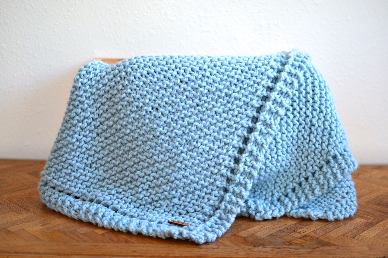 Chunky Knitted Baby Blankets Baby Blanket // Chunky...