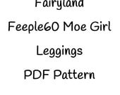 Fairyland Feeple60 Moe Leggings PDF Pattern