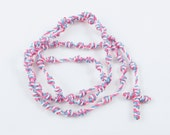 Knotted Cord Rosary Pro-Life Pocket-Size, Pink & Blue - Hospital Safe and Great for Small Children - Baptism Gift, Confirmation Gift