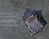 Fabric Samples SET 3 / wool