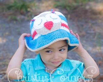 crochet sun hats for babies, toddler sun hat, baby beach hat, boys summer hat, baby hats, wide brim hat, floppy hat, toddler hat, bucket