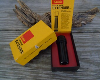 Vintage Kodak Magicube Extender No C177 in Retail Box For Cameras Using Type X Magicubes