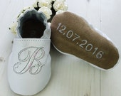 Baptism shoes - Iridescent - Personalized baptism shoes - Baptism gift - Christening gift - christening shoes - christening outfit