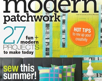 Modern Patchwork Magazine - Summer 2014