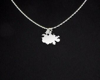 Antigua Necklace - Antigua Jewelry - Antigua Gift
