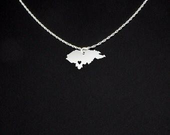 Honduras Necklace - Honduras Jewelry - Honduras Gift
