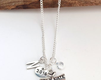 Personalized 2016 Graduate Necklace