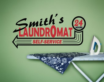 Laundry Room Decal, Laundry Room Wall Decal, Laundry Room Sign, Vinyl Wall Decal, Laundry Room Decor, Laundry Decal, Laundry Sign - WD0089