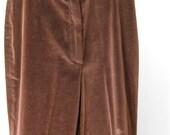 Velvet Pants / Vtg 70s / ...