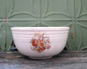 Shabby Chic Bowl, Oven Bake Bowl, Rustic Bowl, Vintage Serving Bowl, Decorative Bowl, Kitchen Decor, Farmhouse Kitchen, Cottage Decor