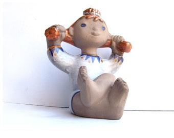 Vintage Upsala Ekeby Dorothy Clough Linda Clay Figure