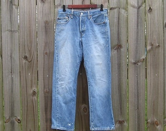 XS S Extra Small Vintage Levi Strauss 501 Destroyed Faded Shredded 100% Cotton 30 x 28.5 Hippie Indie Boho Jeans Denim