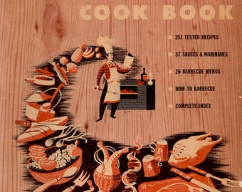 Sunset Barbecue Cook Book by W. Foster Stewart