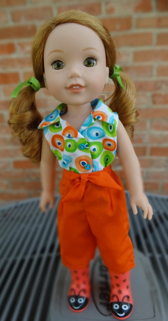 14 5 Doll Clothes For American Girl Wellie Wishers