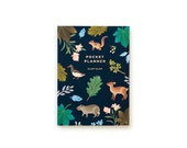 Botanical Pocket Planner - Navy