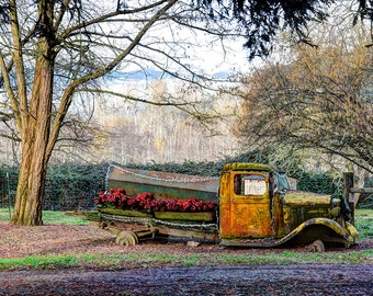 HDR Photography, Truck, Abandoned