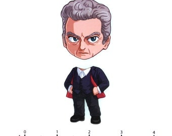 Mix and Match Magnets: Twelfth Doctor (Doctor Who)