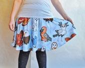 Birds of Prey Skater Skirt