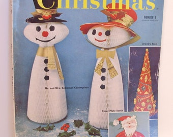 New Ideas for Christmas Magazine, Number 6,  1961