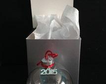 DIY Christmas Ornament Kits with Charm and Gift Box