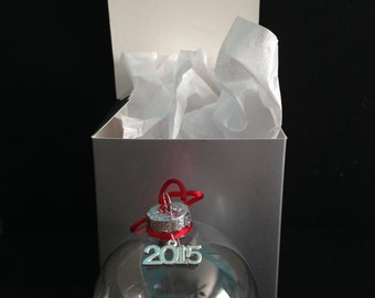DIY Christmas Ornament Kits with Charm and Gift Box