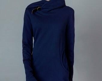 "sweatdress ""nobilis"", deep blue"