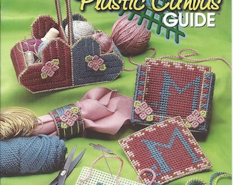 The Ultimate Plastic Canvas Guide Pattern Book - The Needlecraft Shop - Instructions, Basket, Coasters, Napkin Ring, Needlepoint, Embroidery