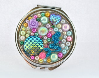 Under the Sea Compact Mirror