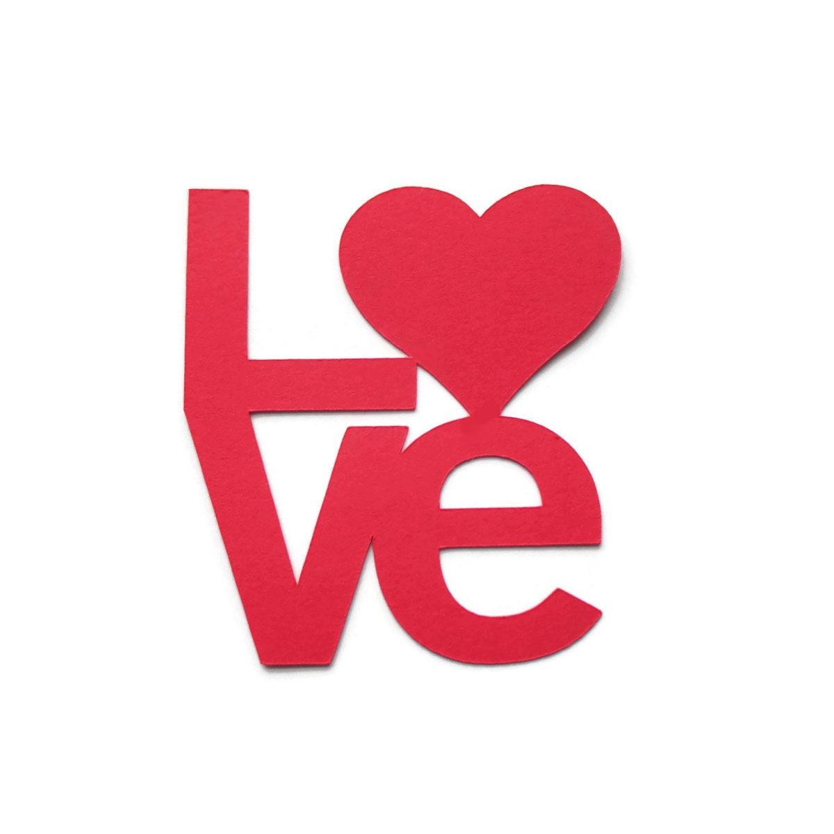 Heart Die Cuts Valentine's Day Die Cut Love Die Cut