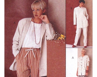 Easy McCall's 6979 Misses' Tunic and Pants Sewing Pattern - UNCUT - Size 20-22-24 - Vintage 1994