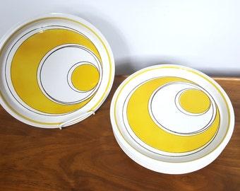 Set of 6 Mikasa Sundance Dinner Plates