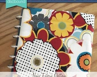Discbound Planner Cover (Summer Multi Floral)