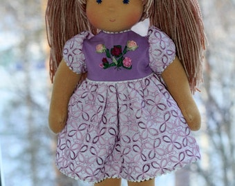 Waldorf doll 15-16  inches - Rosochka - gift for girls