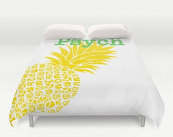 Pineapple Bedding Etsy Au