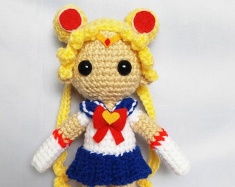 Amigurumi Sailor Moon Doll