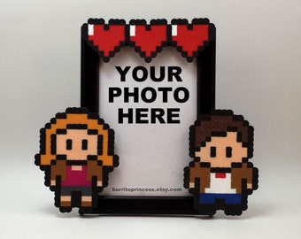 Doctor Who Couples Picture Frame - Nerdy Picture Frame - Nerdy Wedding Gift - Nerdy Anniversary Gift