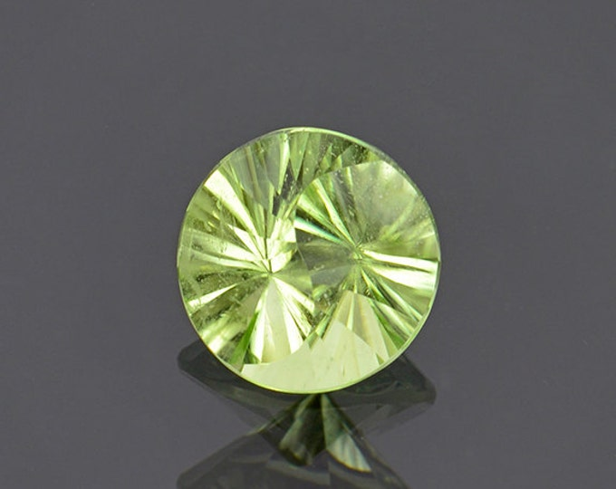 UPRISING SALE! Yin Yang Cut Mint Green Peridot Gemstone from Pakistan 2.68 cts.