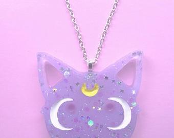 Diana Necklace- Sailor Moon- Anime- Fairy Kei- Kawaii- Diana Artemis- Pastel Goth- JFashion- Harajuku-Mahou Shojo- Mahou Kei
