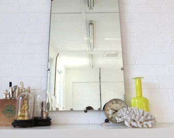 Vintage Art Deco Wall Mirror Extra Large