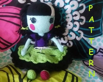 Scraps Stitched N Sewn type doll PATTERN