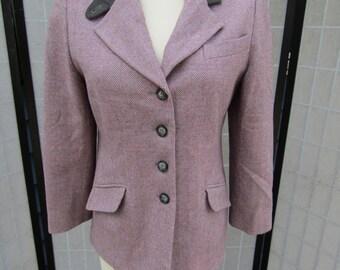 Pendleton Hacking Jacket; Ladies Tweed Riding Jacket