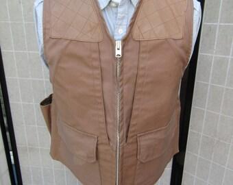 Vintage 10X Hunting/ Shooting Vest, Field Vest