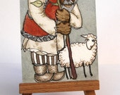 """The Shepherd - """"Discarded Tales"""" ACEO series, #4"""