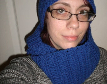 Crochet Hat and Infinity Scarf Set