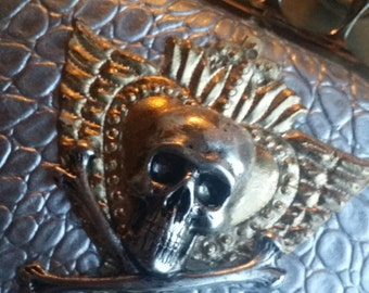 SALE The Vintage Junkie...Alexander McQueen Inspired, Handmade Knuckle Clutch