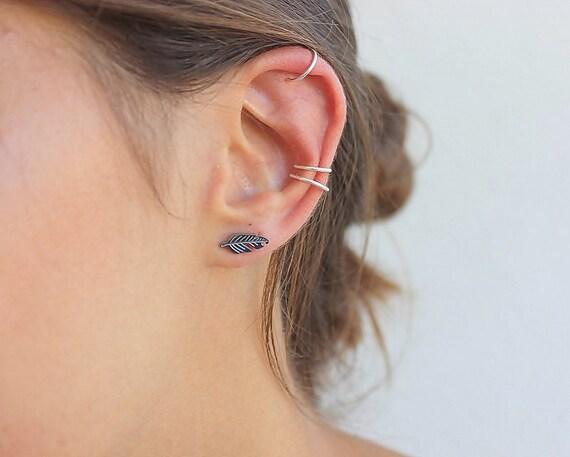 3 conch piercing ear cuff ear manchetten geen piercing. Black Bedroom Furniture Sets. Home Design Ideas