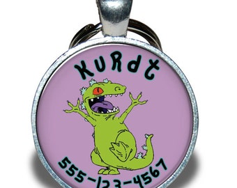 Pet ID Tag - Reptar *Inspired*