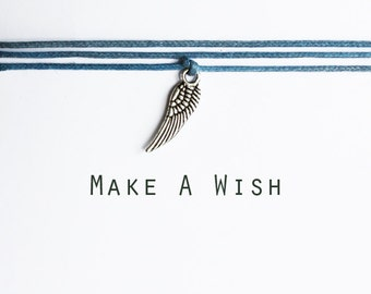 Make A Wish Wing Bracelet