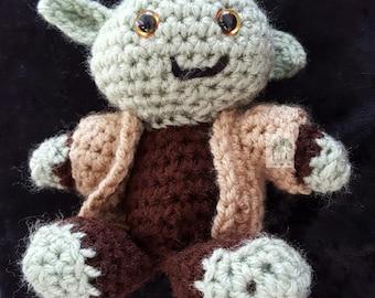 Pocket Amigurumi Yoda