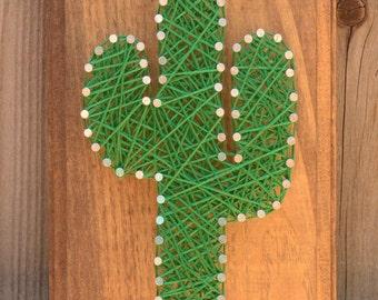 Saguaro String Art